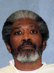 This undated photo released by Texas Department of Criminal Justice shows death row inmate Robert Jennings. The 61-year-old Texas man on death row was set to be executed Wednesday, Jan. 30, 2019, for killing a Houston police officer more than three decades ago. Jennings would be the first inmate put to death this year both in the U.S. and in Texas, which is the nation's busiest capital punishment state. Jennings was condemned for the July 1988 slaying of Houston Police Officer Elston Howard during a robbery of an adult bookstore. (Texas Department of Criminal Justice via AP)