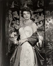 "A portrait of Jacqueline Kennedy Onassis is featured in ""Yousuf Karsh: American Portraits."" The exhibition, from the Smithsonian's National Portrait Gallery, will be on display at the Rockwell Museum in Corning from Feb. 5-May 5."