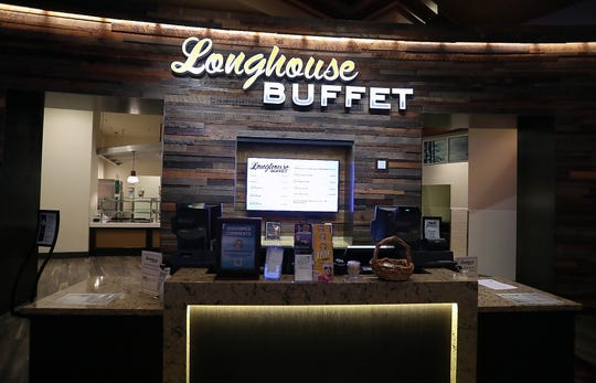 Longhouse Buffet at Clearwater Casino on Wednesday, January 30, 2019.