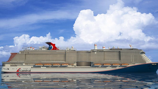 Carnival Reveals Details Of Giant Mardi Gras Cruise Ship Itinerary