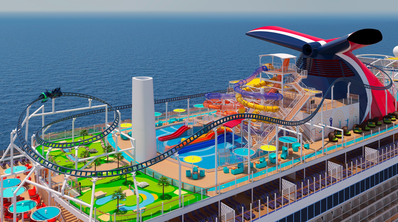 Carnival Cruise Line Reveals Mardi Gras Ship Itinerary