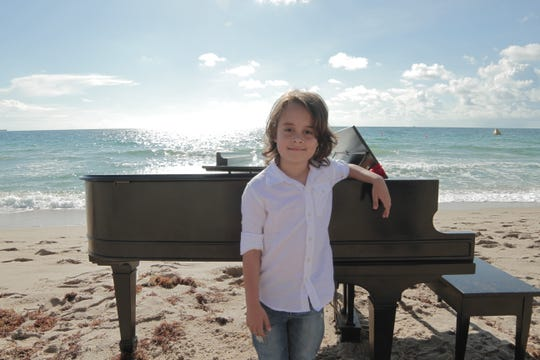 Piano prodigy Jacob Velazquez, 11, will preform this weekend with the Space Coast Symphony  Orchestra.