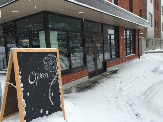 The Perky Planet Coffee Shop is at the corner of St. Paul and King streets in Burlington.