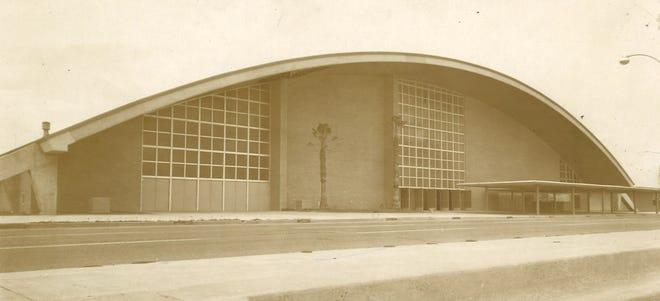 Corpus Christi's Memorial Coliseum in September 1956.