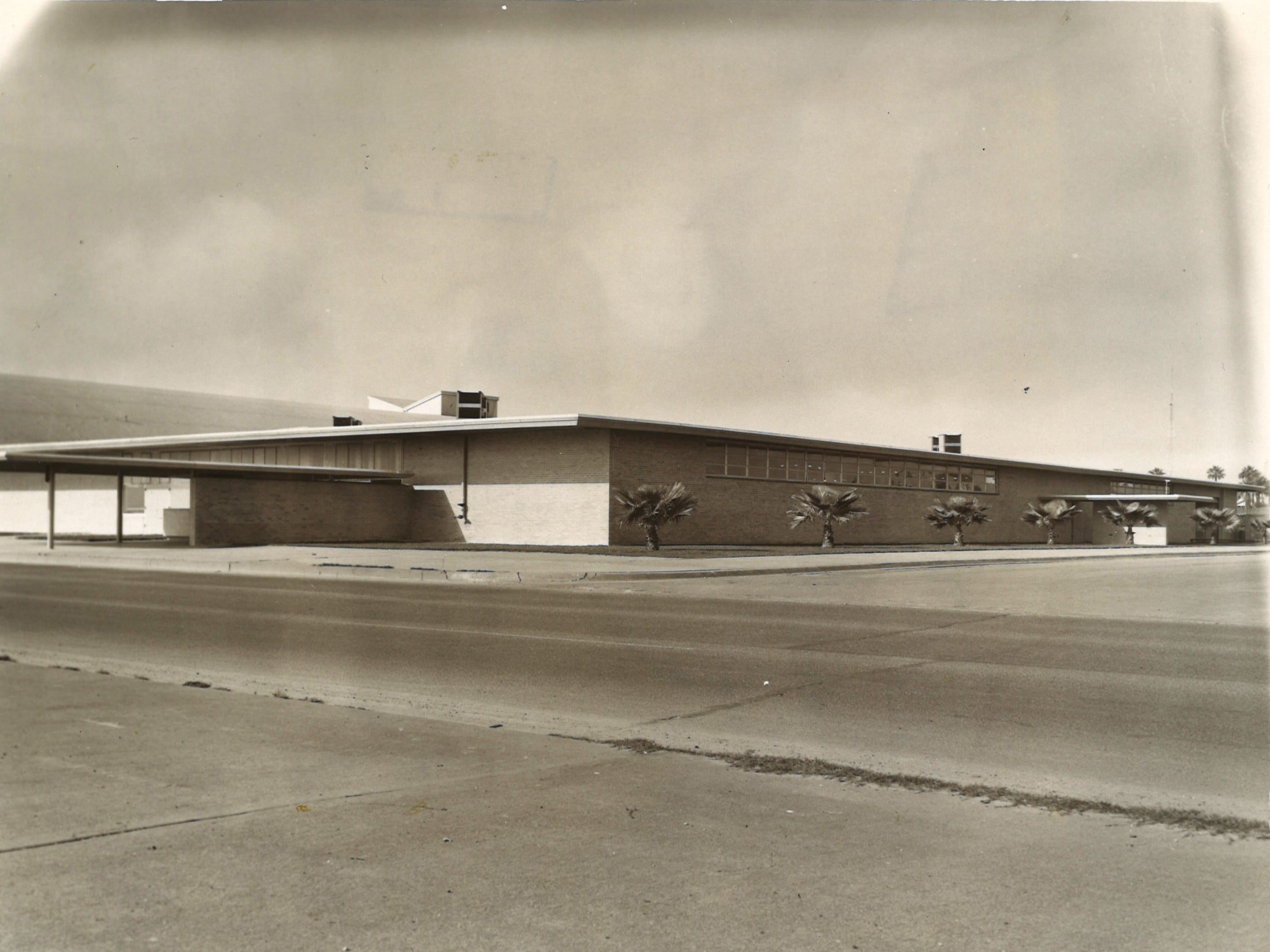 Corpus Christi's Exposition Hall on Shoreline Boulevard, seen in this undated photo, was Memorial Coliseum's counterpart.