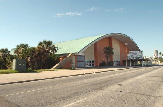 The Memorial Coliseum in Corpus Christi on Sept. 30, 2003.