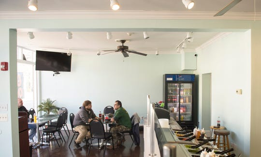 Interior of Aloha Poke Bowl in Collingswood.