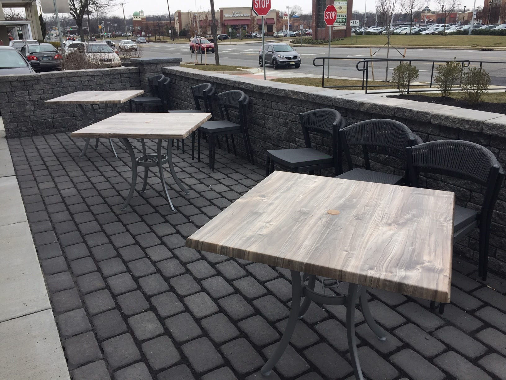 In warmer weather, First Watch in Cherry Hill will offer outdoor patio seating off Haddonfield Road.