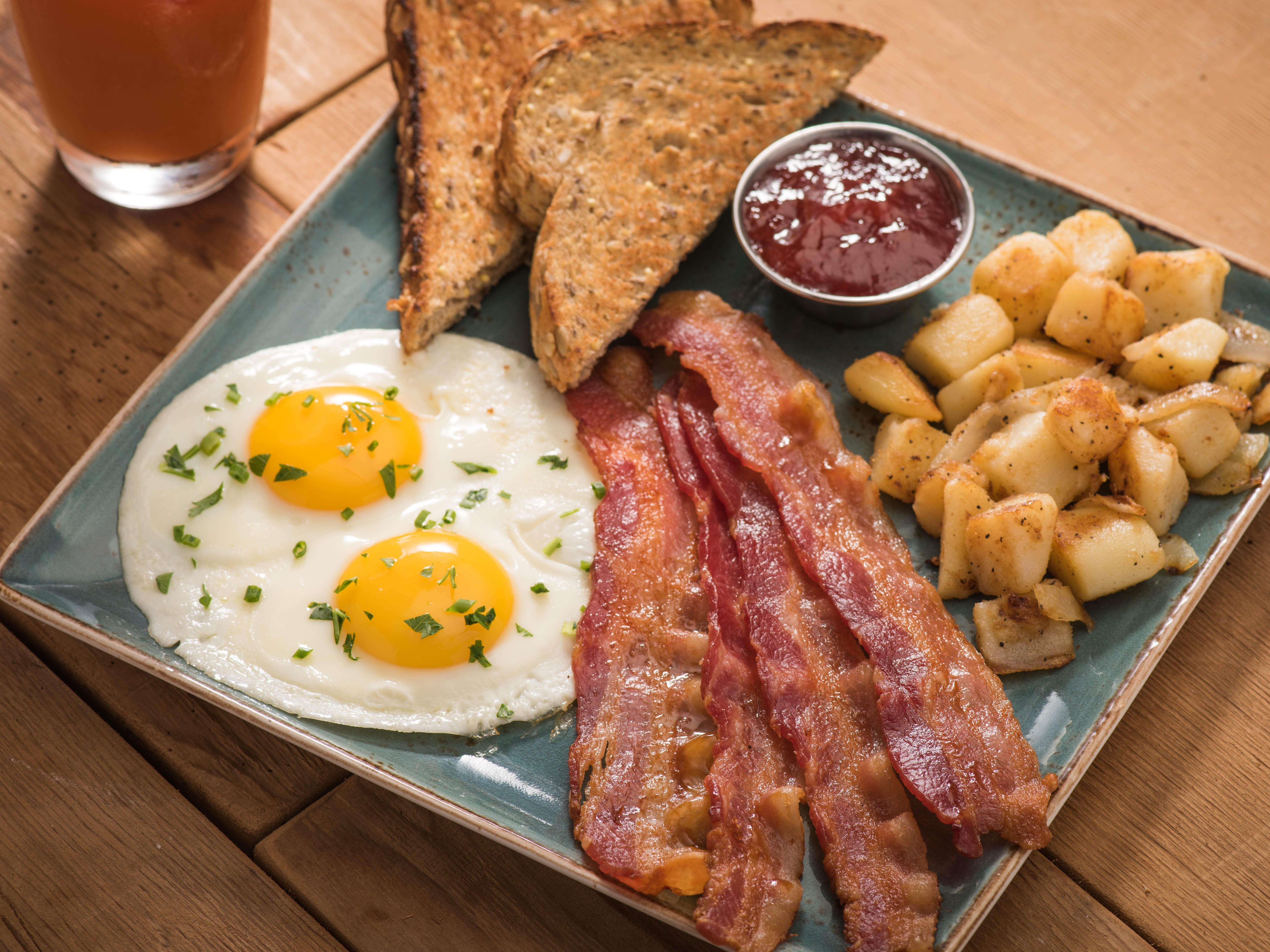 A traditional breakfast is on the menu at First Watch.