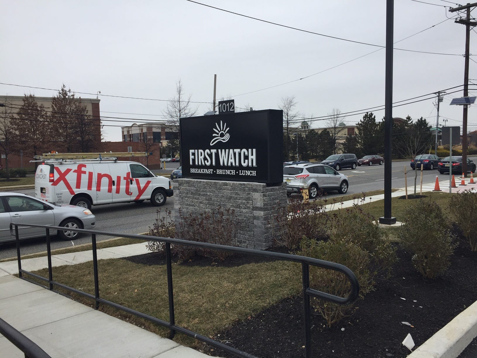 First Watch, a breakfast/lunch/brunch restaurant that started in Florida will open in Cherry Hill on Monday. It is across from Wegmans on Haddonfield Road.