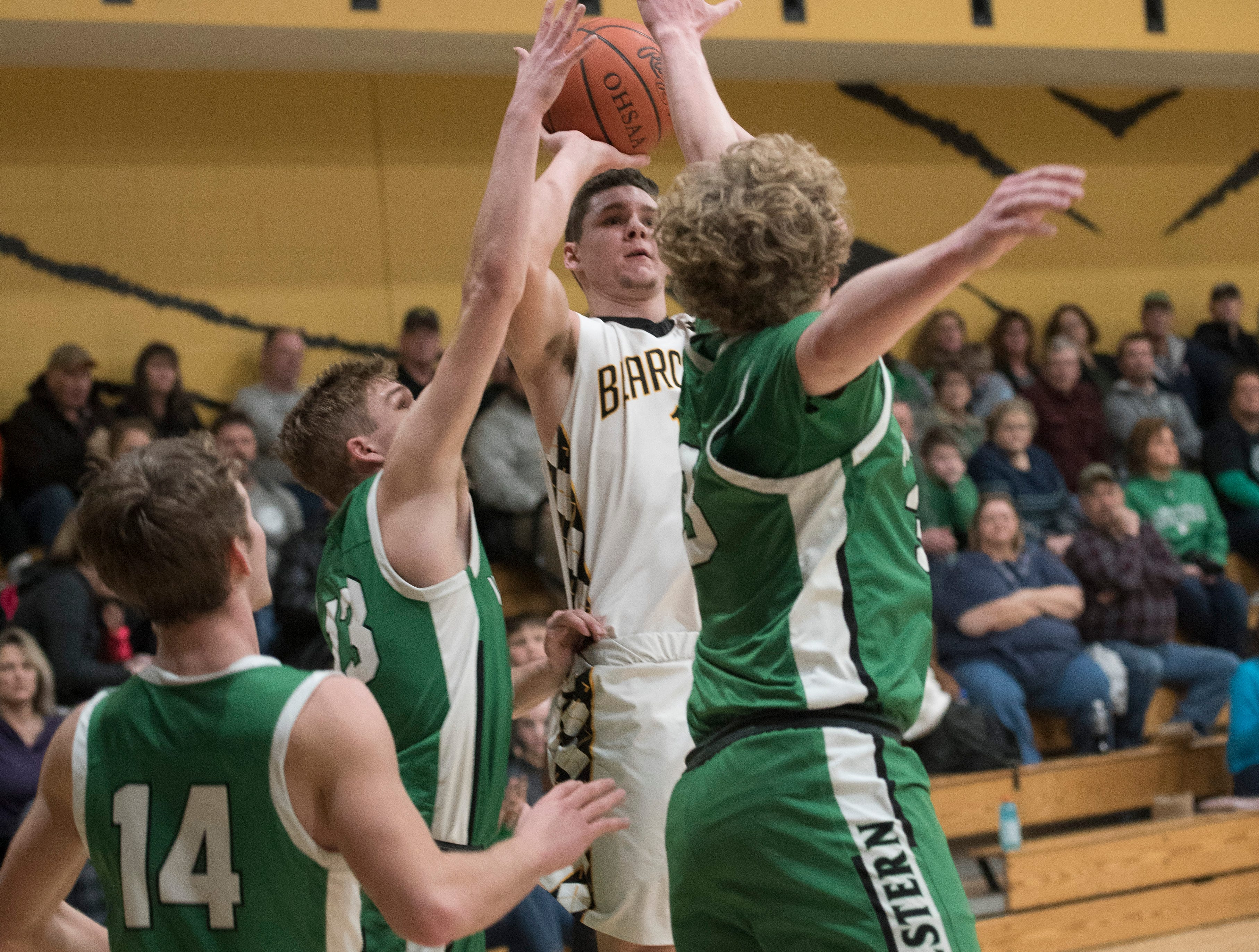 Paint Valley fell to Western 66-55 Tuesday night at Paint Valley High School.