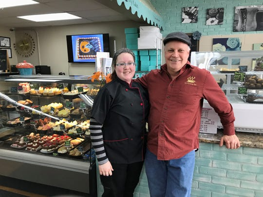 Olivia and Tom Johson are a father-daughter duo that owns and operates Livy Cakes and Two Roasting Joes.