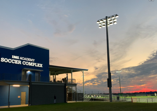 The IMG Academy soccer complex where FC Cincinnati will play the Montreal Impact Wednesday, Jan. 30 in Bradenton, Florida.