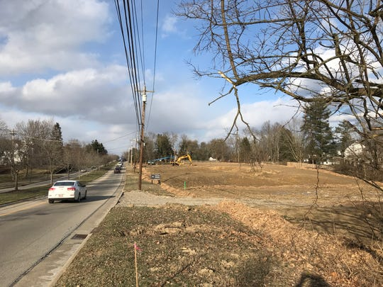 Twelve luxury townhomes are planned for this vacant land on Montgomery Road near Hopewell Road in Montgomery.