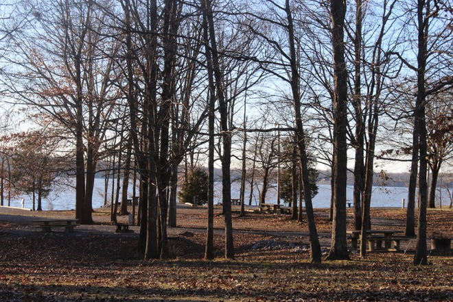 A view from Piney Campground at Land Between the Lakes National Recreation Area.