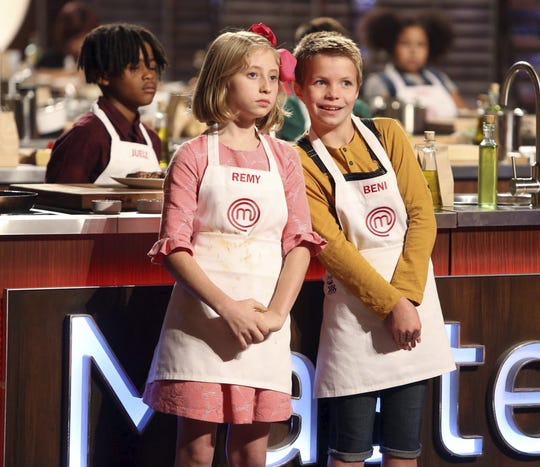 Juelz, Remy and Beni from MasterChef Junior, Season 6.