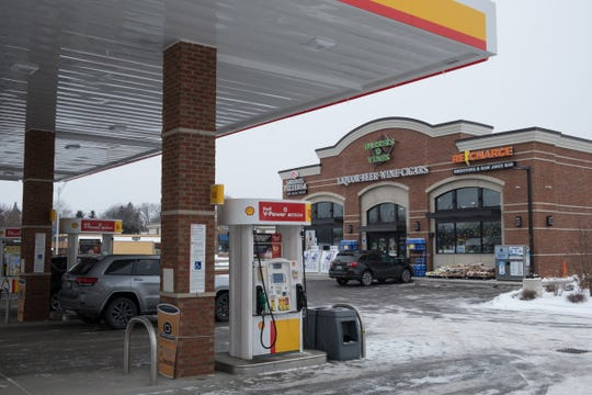 Barrels & Vines market, in Royal Oak, and an adjoining Shell gas station went up after an old, smaller Shell station was torn down on Woodward Avenue.