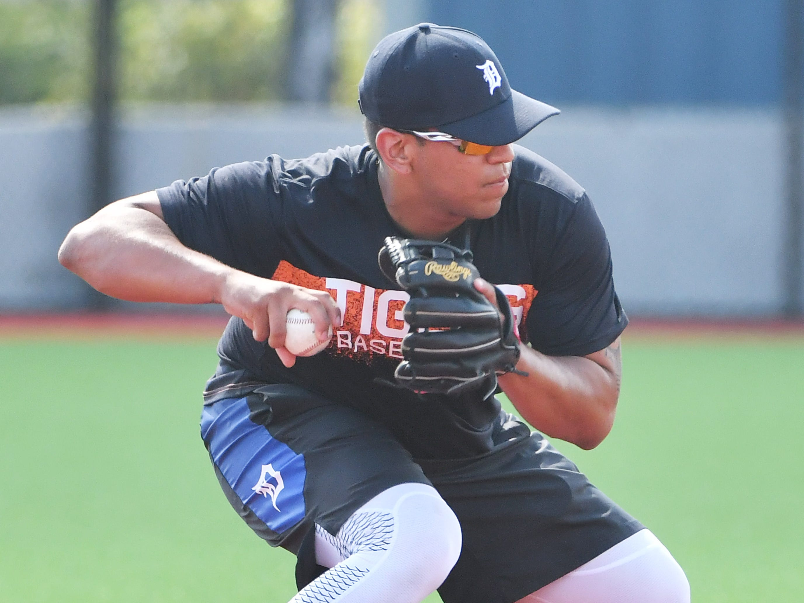 3. Isaac Paredes, IF, 19, 5-11, 225: Yes, 19 years old -- for a few more days, anyway. This is what he did in 39 games last year at Double A: .321 batting average, .406 on-base, .864 slugging. He has a right-handed swing that as early as next season could be a trigger to the Tigers' reconstituted lineup. He probably is headed for third base unless he drops 30-40 pounds, which would be one mean feat. The bat will find its way into the lineup's mid-order, wherever Paredes plays.