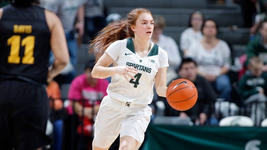 Taryn McCutcheon and the Michigan State women will now play Penn State on Feb. 27.