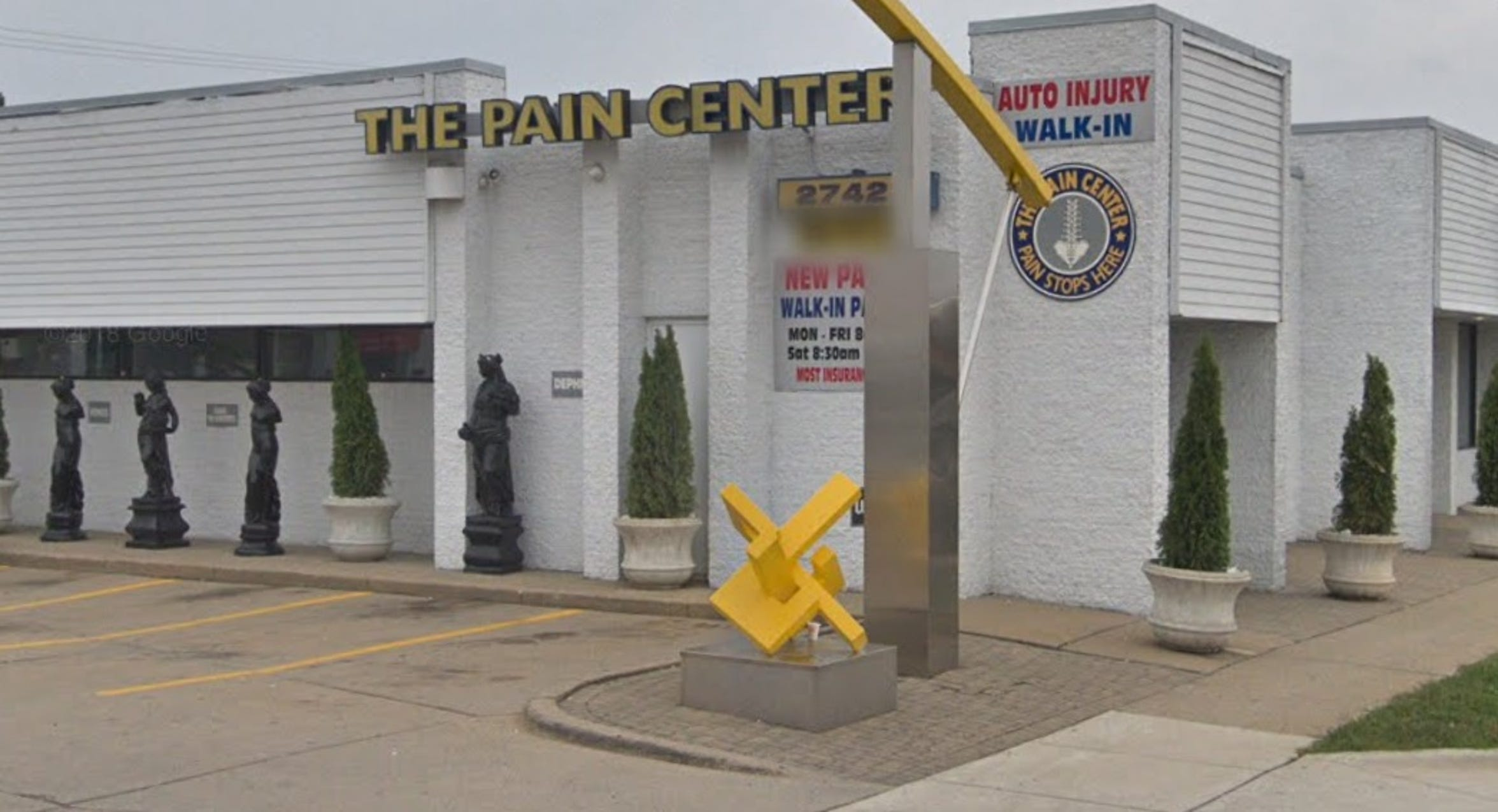 The Pain Center USA in Warren along Van Dyke Avenue, north of Eleven Mile Road.