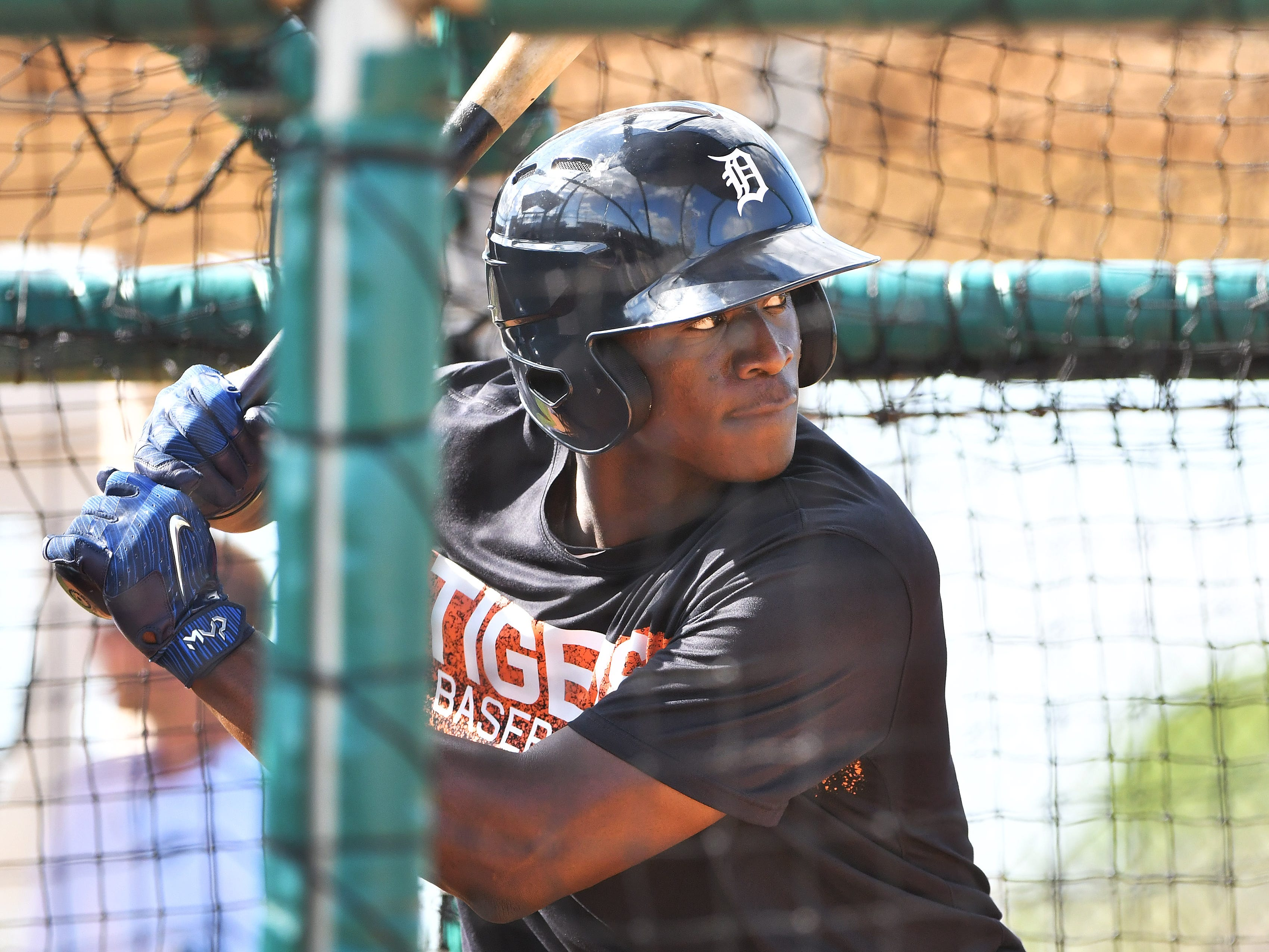 8. Daz Cameron, CF, 22, 6-2, 195: Focus for a moment on Cameron's work in last year's Arizona Fall League, a sturdy stage, indeed. Cameron in 20 games batted .342/.435/.468/.903. Not the fattest body of work, but given he played well at three levels last year, including Triple A, one can sense Cameron could quickly be planting spikes on Comerica Park's turf. There is a question about whether he will simply be an OK all-around player. Or one who can be upper-tier. Deeper insight is en route in 2019.