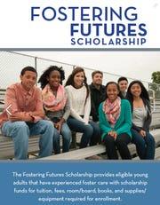 Fostering Futures Scholarship advertisement on Twitter