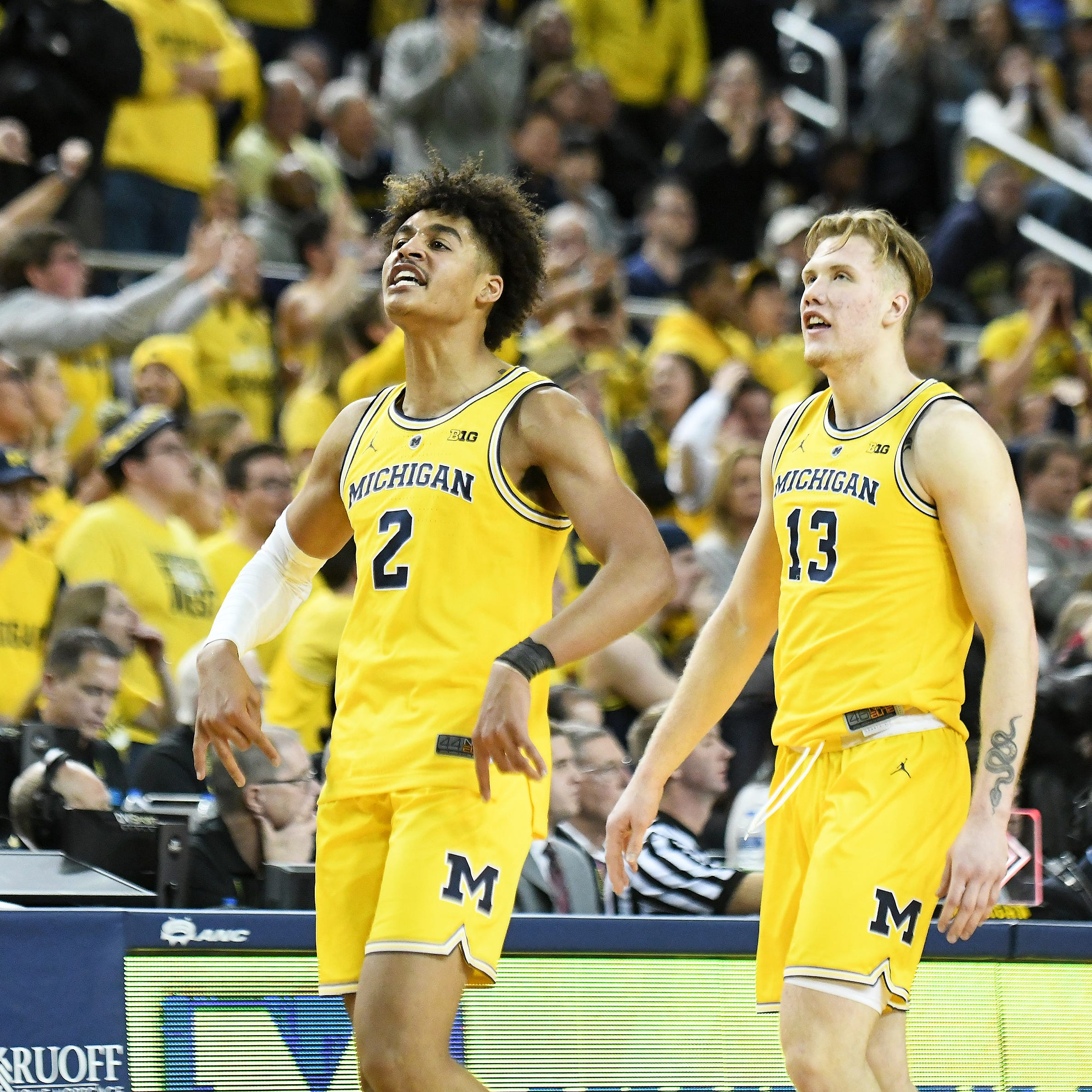 Michigan's Jordan Poole to keep name in NBA Draft