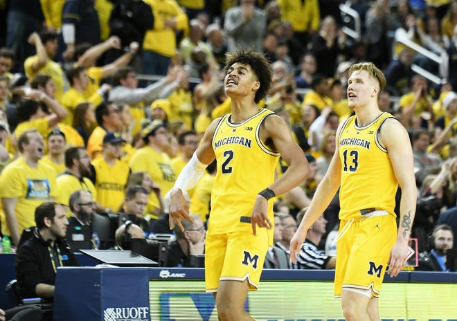 Michigan guard Jordan Poole will be staying in the NBA draft.