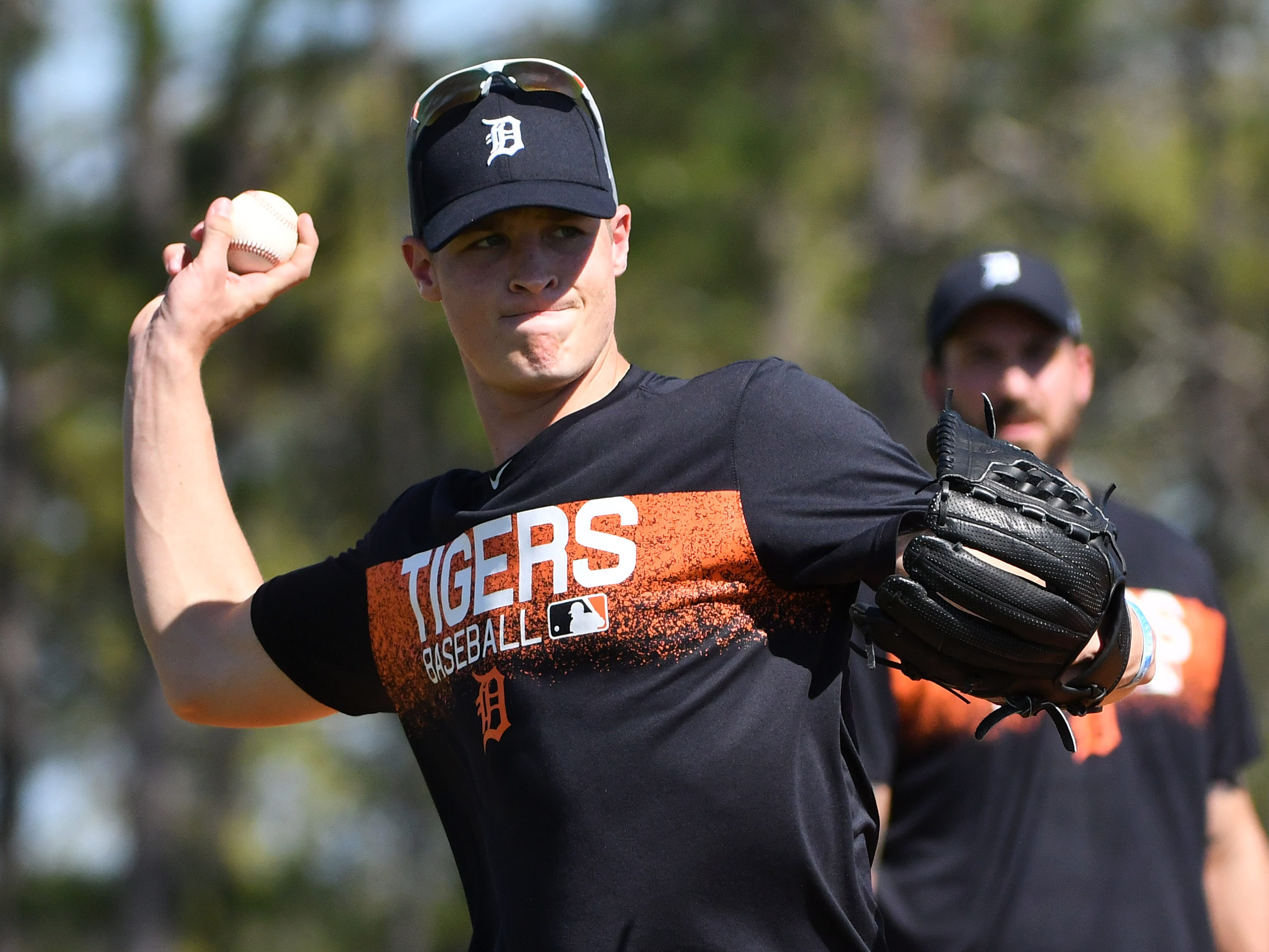 2. Matt Manning, RH starter, 21, 6-6, 190: Credit the Tigers scouts on this call. It's gutsy to take a prep pitcher, having no more experience than Manning had in 2016, with a ninth overall pick. But what a payoff it should bring. Manning gets better, stronger, and more overpowering each week during his farm seminars. He has one of the best curveballs anywhere in minor-league ball and is throwing harder as strength and mechanics and pure athleticism coalesce. Could be a staff ace.