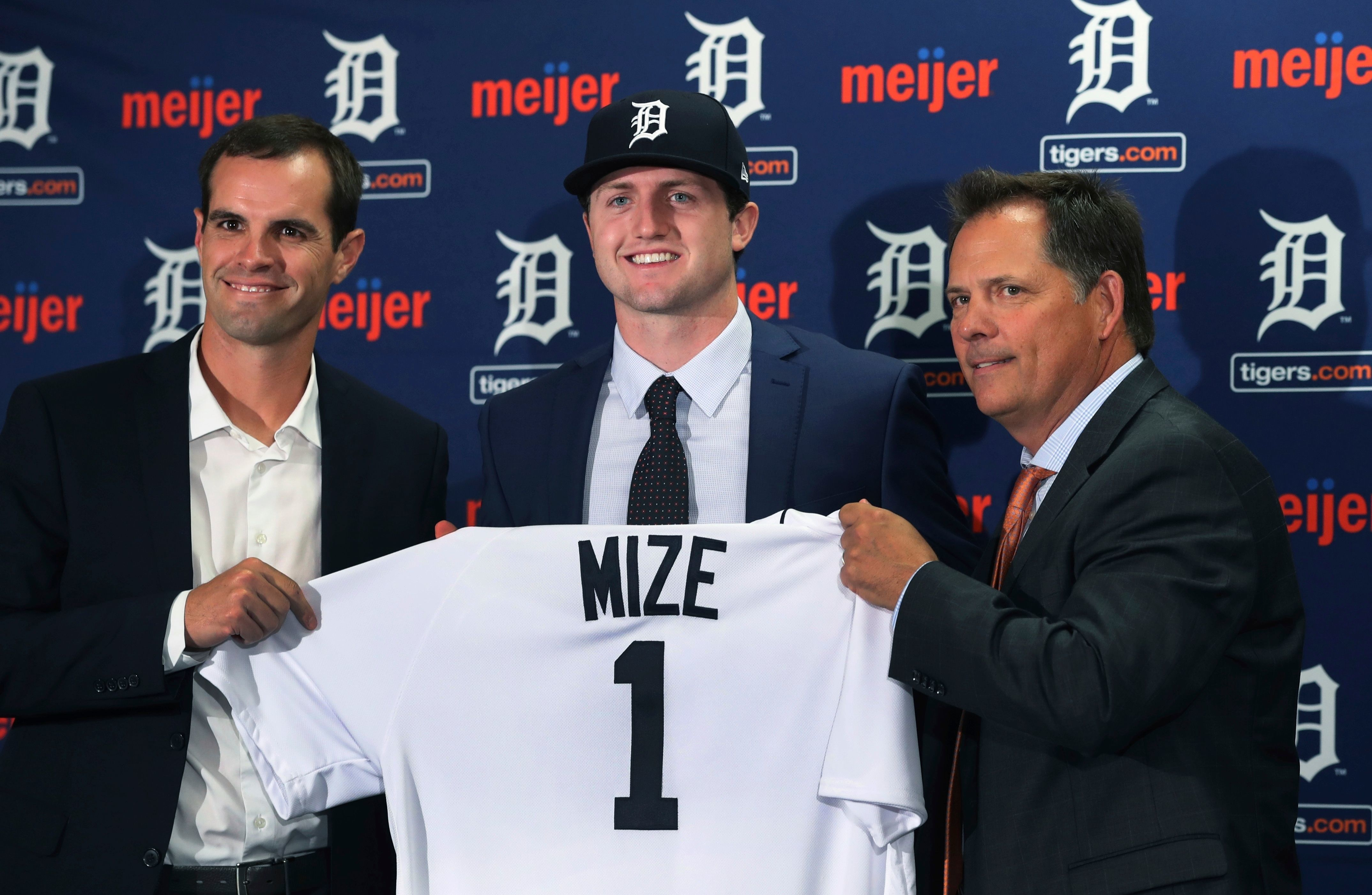 Click through the gallery for a breakdown of the Detroit Tigers' top 10 prospects, compiled by Lynn Henning of The Detroit News. The list is led by right-hander Casey Mize, the No. 1 overall pick in 2018.