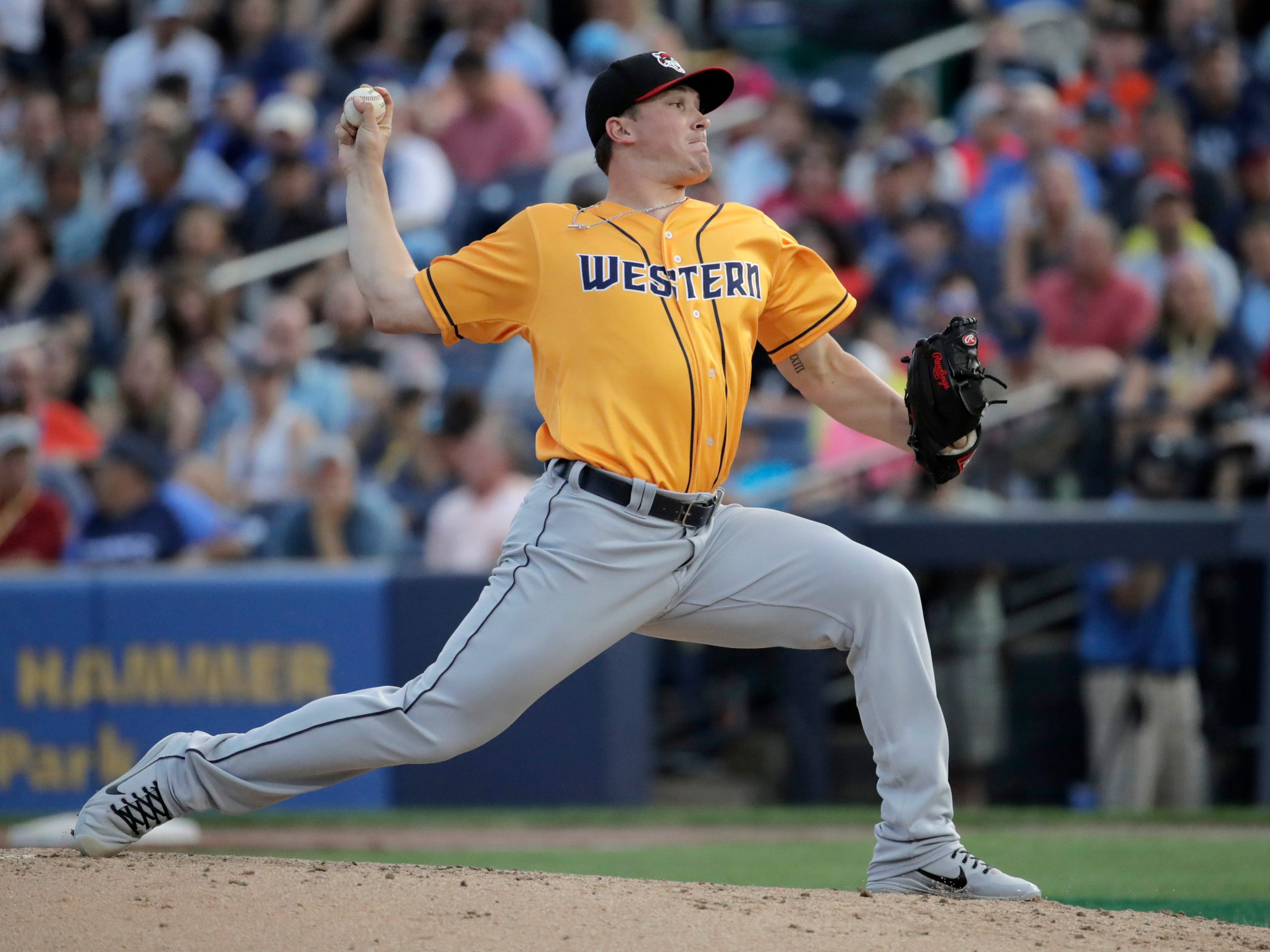 6. Beau Burrows, RH starter, 22, 6-2, 200: This chap has done nothing but pitch well, stay healthy, and improve at every level since the Tigers got him as one more perilous prep starter who looks as if he'll do just fine. Yes, stuff happens. It can happen to any player. Burrows will start the year at Triple A. A good bet you'll see him in Detroit in 2019, perhaps earlier than later.