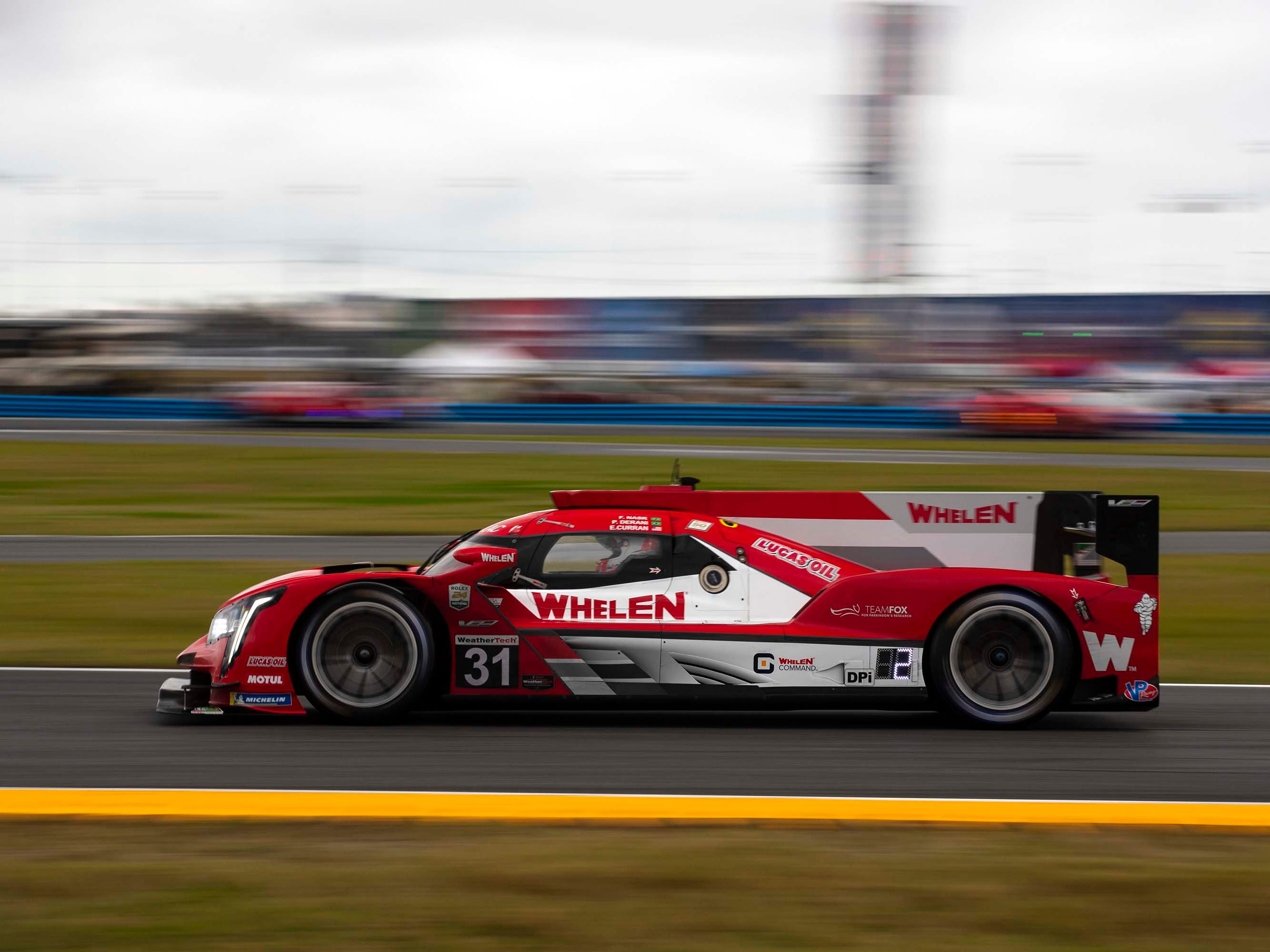 The #31 Whelen Engineering Cadillac DPi came in second at the Rolex 24 Hours of Daytona -- one of six Caddy prototypes entered in the race.