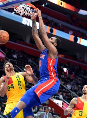 5 Biggest Surprises And 5 Biggest Disappointments ...  |Andre Drummond Pistons Dunk
