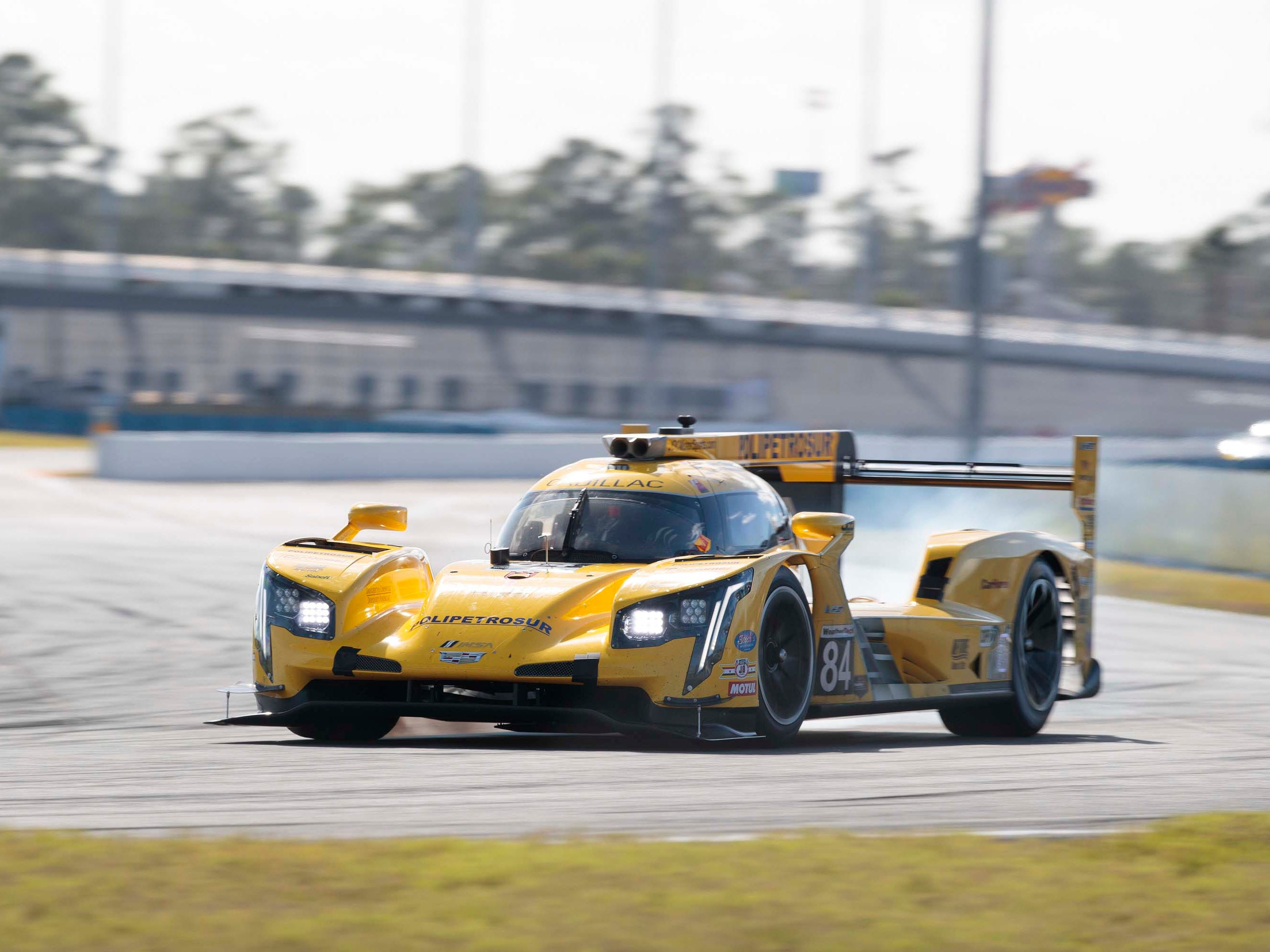 The Cadillac DPi-V.R has finsihed 1-2 at the Rolex 24 Hours of Daytona three years running -- becoming the dominant car in a field that includes Nissan, Mazda, and Acura.