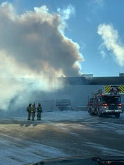 Fond du Lac Fire/Rescue puts out fire in HVAC unit at Mercury Marine Plant 15.