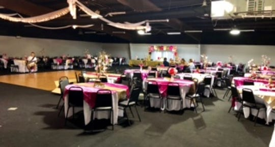 The J-FAC has been rented for several special events since it opened in October 2017, including wedding receptions, corporate events and teen dances.