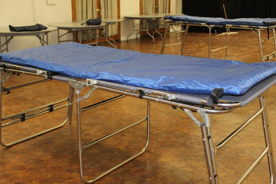 Pontifex, Inc. set up a warming center for residents looking to escape bitter cold and record winter chills this week. The center will stay open 24 hours at least through Thursday.