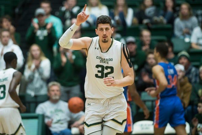 Star center Nico Carvacho and the CSU men's basketball team open the 2019-20 season on Nov. 5 at home against Denver.