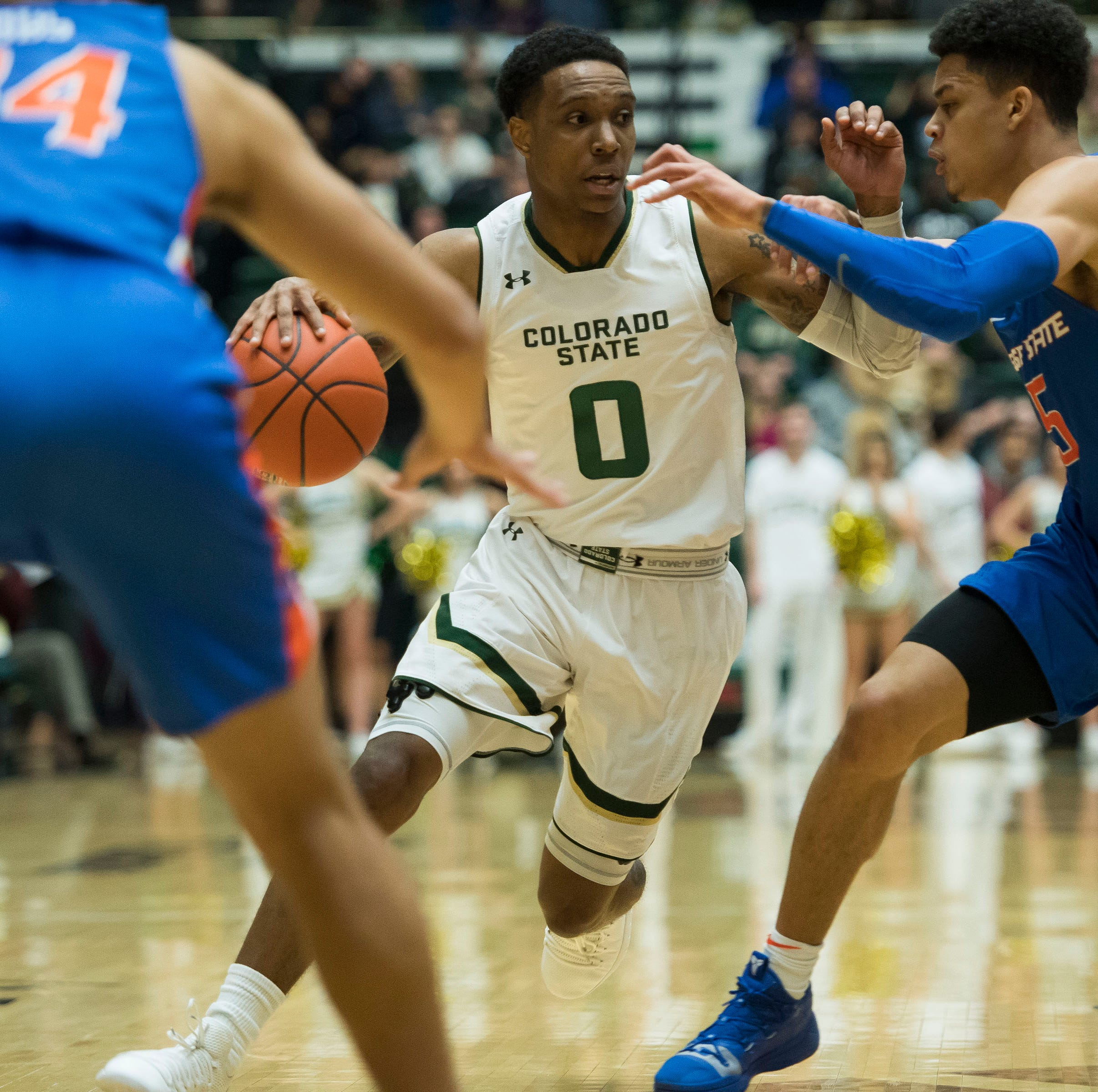 Colorado State basketball guard Hyron Edwards says he's going to transfer