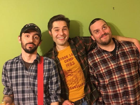 Beach Patrol members, from left, Damien Dias, Domenic Marcantonio, Travis Magee and Preston Ely (not pictured) will play an all-ages album release show Saturday night at ZoZo's BBQ.
