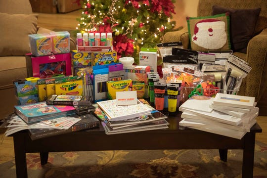The Christmas donations to Shodair Children's Hospital was one of the company's first '90 Acts of Kindness,' this year