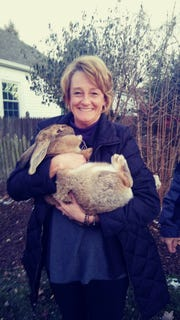 The Corcoran family has been reunited with their giant pet rabbit, Barley.