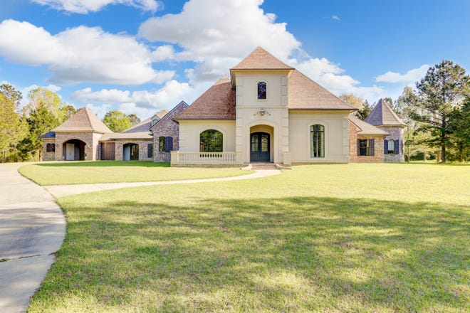 This 5 bedroom, 4 bath home is located at6137 Hwy 93 in Grand Coteau. It is listed at $1,300,000.