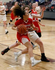 Fairfield Christian Academy senior Celeste Mershimer was named Central District Division IV Co-Player of the Year.