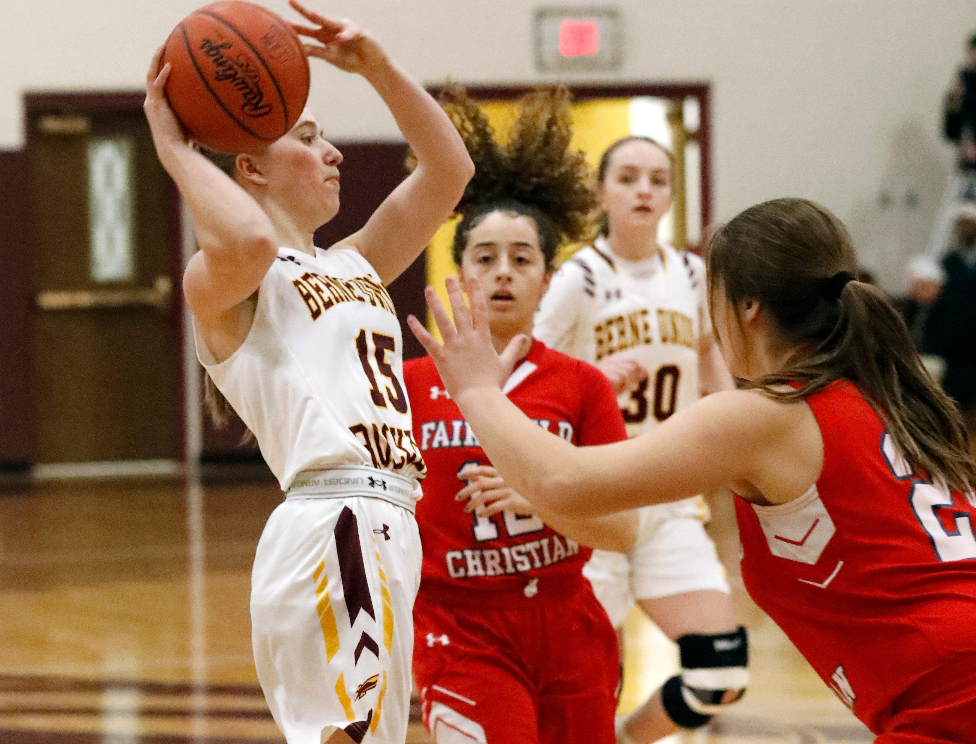 Fairfield Christian defeated Berne Union 84-37 Tuesday night, Jan. 29, 2019, at Berne Union High School in Sugar Grove.