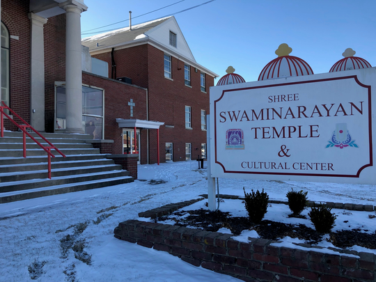 Swaminarayan Temple, 4032 Bardstown Road, was vandalized sometime between Sunday and Tuesday, Louisville officials said.