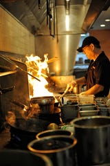 Eddie Pao, the chef and owner of Mosa Asian Bistro, is originally from Taiwan. Pao is planning a special menu for the Chinese New Year.