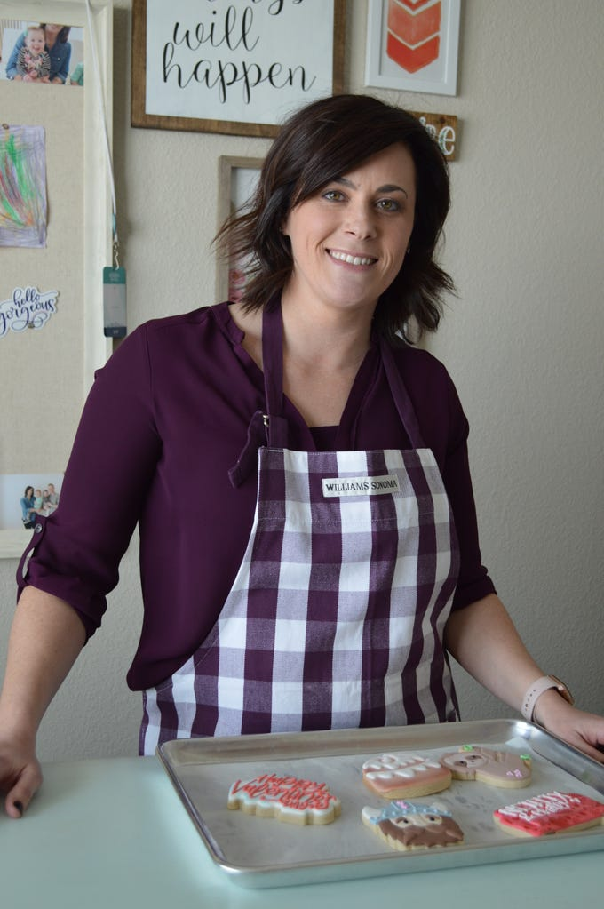 Trisha Isaac started The Frosted Cookie Bake Shop out of her Hartland home.
