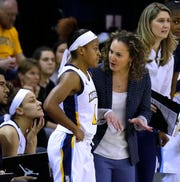 Marquette coach Carolyn Kieger and senior point guard Danielle King have their sights set on a Big East tournament championship.