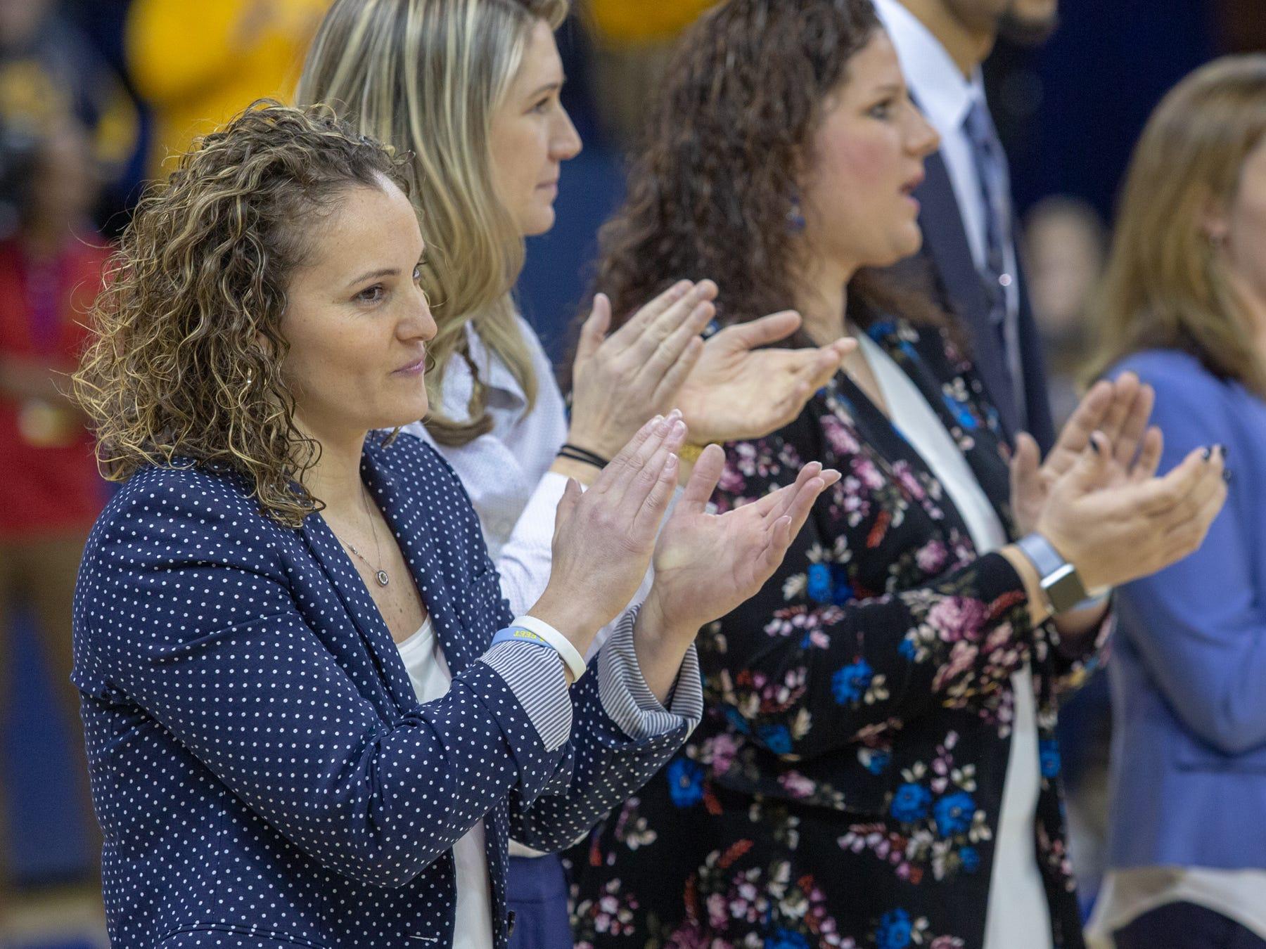 Head coach Carolyn Kieger.